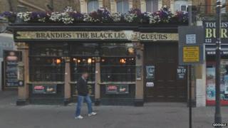 Black Lion pub in Bayswater