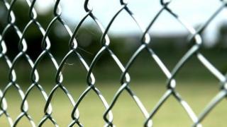 Perimeter fence at Yarl's Wood