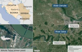 Balkan floods: Fears of new surge on Serbia's River Sava