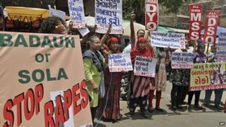 Recent cases of rape have sparked angry protests in India