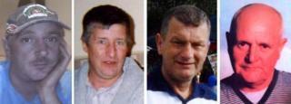 Garry Jenkins, Philip Hill, David Powell, a Charles Breslin