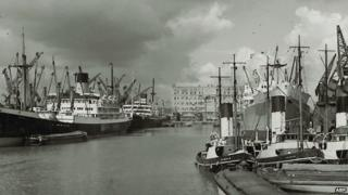 Archive picture of King George Dock