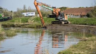 River Parrett dredging