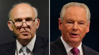 Vince Cable and Francis Maude