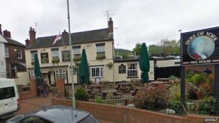 Duke of York pub, Oakengates