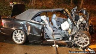 Teresa Mitchell's BMW