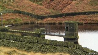 Snailsden reservoir in South Yorkshire