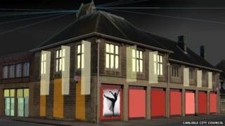 Artist's impression of the arts centre