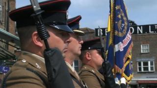 42 Engineer Regiment (Geographic) in Newbury