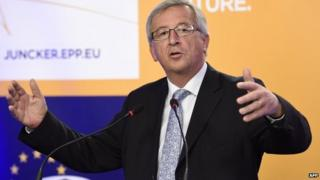 File photo: Jean-Claude Juncker, 25 May 2014