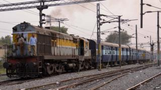 More than 12,000 passenger trains run daily on India's railway network