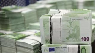 100 Euro bundles