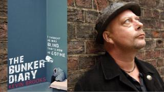 The Bunker Diary and its author Kevin Brooks