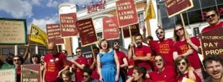 Ritzy cinema staff on strike