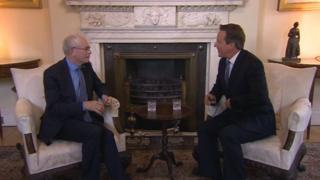 David Cameron & Herman Van Rompuy