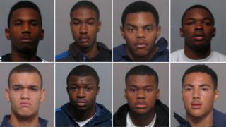 Eight defendants