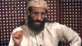 In this image taken from video and released by SITE Intelligence Group Anwar al-Awlaki speaks in a video message posted on radical websites 8 September 2010