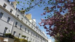 Houses in the Belgravia area of London