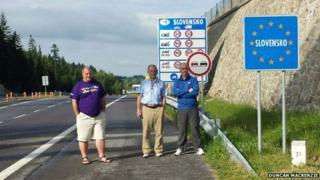 Europe car challenge team