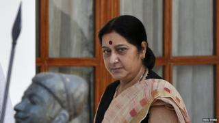 Foreign Minister Sushma Swaraj is leading India's efforts to rescue citizens from Iraq