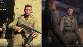 Charlie Brooker in Sniper Elite 3