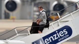 Wayne Rooney at Manchester Airport