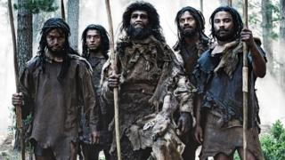Actors portraying Neanderthals from Andrew Marr's History of the World
