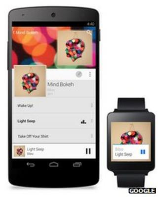 Google reveals first Android Wear watches to go on sale
