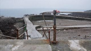 Bathing pools in Guernsey