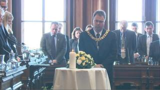 Edinburgh's Lord Provost Donald Wilson