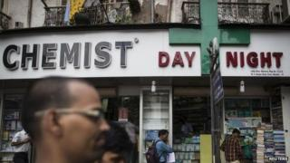 File photo of chemist shop in Mumbai