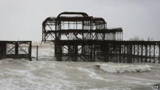 West Pier at Brighton