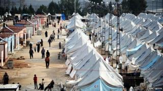 Karkamis refugee camp
