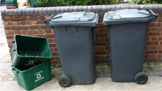 Bins and recycling containers