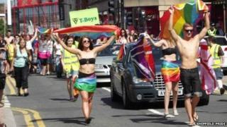 Sheffield Pride 2013