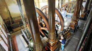 Gimson steam engine