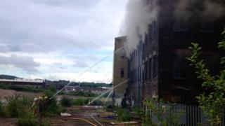 Fire at Royal Doulton factory