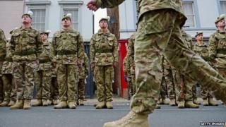 Royal Regiment of Scotland soldiers