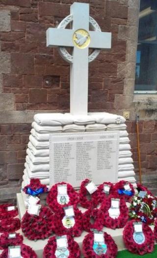 Watchet war memorial