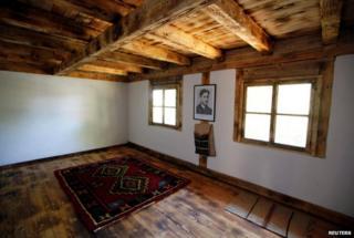 House where Gavrilo Princip was born, newly renovated, Obljaja, Bosnia-Hercegovina (27 June)