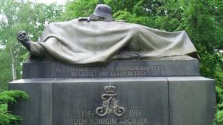 Cemetery in Tempelhof, Berlin
