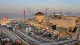 Westinghouse nuclear reactor in China