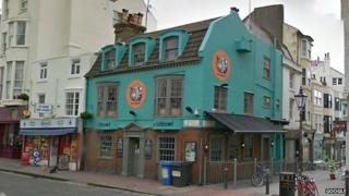 Fishbowl pub, Brighton