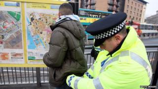 Stop and search in Liverpool
