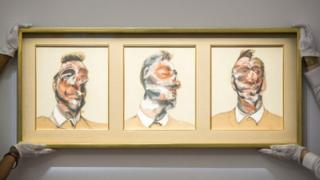 Three Studies for Portrait of George Dyer