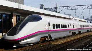 An E3-type Shinkansen train