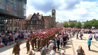 Lancers in Derby