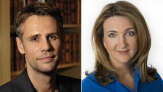 Richard Bacon and Victoria Derbyshire