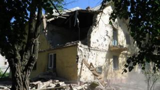 Shelling in Kramatorsk, 1 July