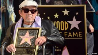 Paul Mazursky on the Hollywood Walk of Fame